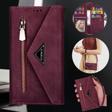 Load image into Gallery viewer, New Crossbody Wallet Leather Phone Case For Samsung S Series