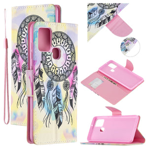 New Fashion Painted Wallet Phone Case For iPhone