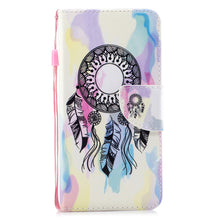 Load image into Gallery viewer, New Fashion Painted Wallet Phone Case For iPhone