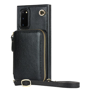 Multifunction Zipper Wallet-Style Phone Case For Samsung S20