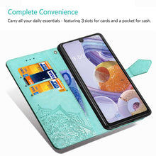 Load image into Gallery viewer, 2021 Luxury Embossed Mandala Leather Wallet Flip Case for XIAOMI REDMI Note8