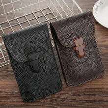Load image into Gallery viewer, 2020 outdoor sports universal multifunctional leather case wallet mobile phone bag