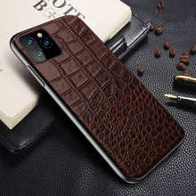 Load image into Gallery viewer, Luxury Genuine Leather Case For iPhone