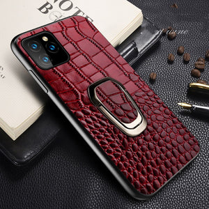 Luxury Genuine Leather Cover For iPhone