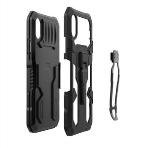 2021 New Phone Warrior Multi-function Bracket Belt Clip Case For Samsung