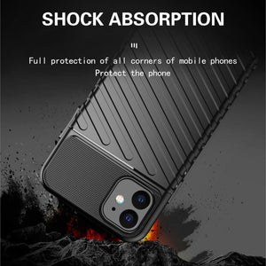2020 New Stylish Thunder-Style Silicone Case For iPhone