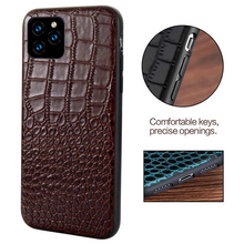 Load image into Gallery viewer, Luxury Genuine Leather Cover For iPhone