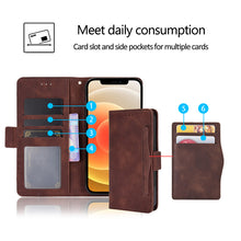 Load image into Gallery viewer, Luxury Multi-Card Slots Wallet Flip Cover For Samsung A11