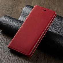 Load image into Gallery viewer, Luxury Leather Flip Wallet Case Cover For Samsung S7/S7 Edge