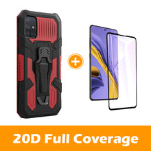 Load image into Gallery viewer, 2020 Warrior Multi-function Bracket Belt Clip Case For Samsung A51