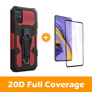 2020 Warrior Multi-function Bracket Belt Clip Case For Samsung A51