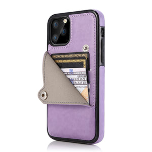 2020 4 IN 1 Luxury Leather Card slot Case For iPhone