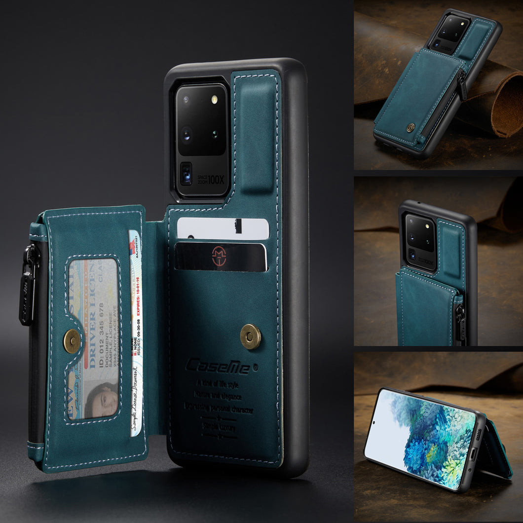 2021 New Luxury Multifunctional Wallet Phone Case For Samsung S20 Ultra