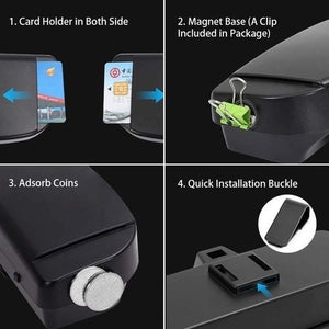 Car Sun Visor Glasses  Box Holder