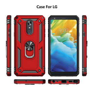 2020 Luxury Armor Ring Bracket Phone case For LG