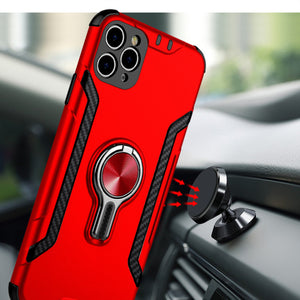 2020 mobile phone shell case with ring bracket for iPhone