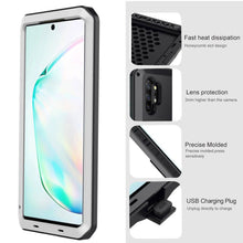 Load image into Gallery viewer, 【FREE SHIPPING】Luxury Doom Armor Waterproof Metal Aluminum Phone Case For Samsung Note10
