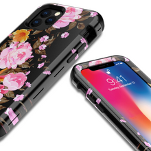 Load image into Gallery viewer, Stylish Printed Flower&Marble Mobile Phone Case For IPhone