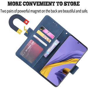 Luxury Multi-Card Slots Wallet Flip Cover For Samsung A01