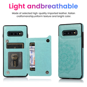 2020 New Style Luxury Wallet Cover For Samsung S10 4G