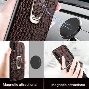 Luxury Genuine Leather Cover For Samsung