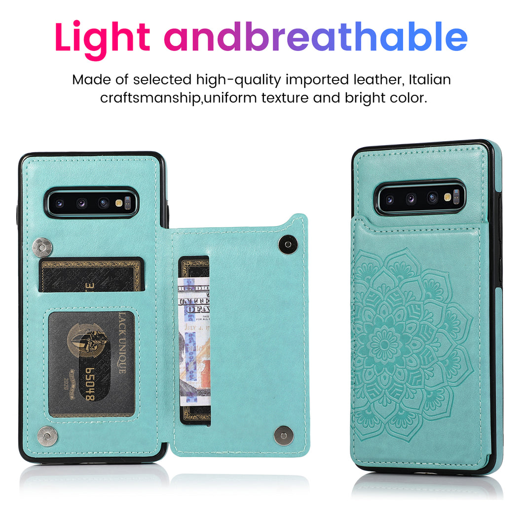 2020 New Style Luxury Wallet Cover For Samsung S10E