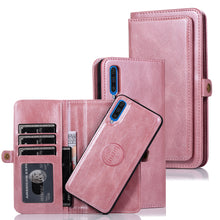 Load image into Gallery viewer, Multifunctional Split Magnetic Wallet Phone Case For Samsung A70