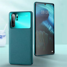 Load image into Gallery viewer, Luxury Shockproof Bumper Leather Case For Huawei