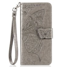 Load image into Gallery viewer, New Luxury Embossed Butterfly Leather Wallet Flip Case for IPHONE 7/8