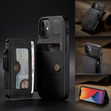 Load image into Gallery viewer, 2021 New Luxury Multifunctional Wallet Phone Case For iPhone