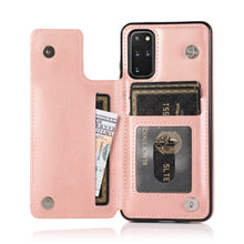 Load image into Gallery viewer, 2020 New Style Luxury Wallet Cover For Samsung S20 Plus