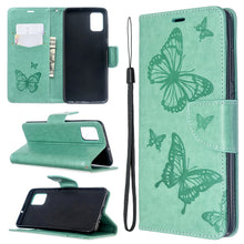 Load image into Gallery viewer, 2020 Embossed Butterfly Pattern Flip Phone Case For Samsung Galaxy A51