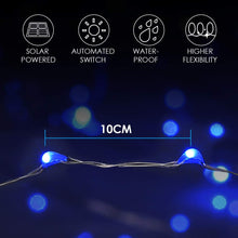 Load image into Gallery viewer, 8 Modes Solar Decorative String Lights for Outdoor, Wedding, Homes, Party, Halloween