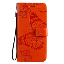 Load image into Gallery viewer, 2021 Upgraded 3D Embossed Butterfly Wallet Phone Case For Samsung S20 Plus