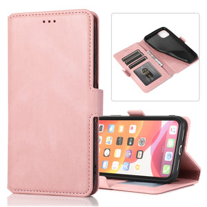 2020 Retro Clamshell Leather Case for iPhone
