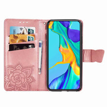 Load image into Gallery viewer, 2021 Luxury Embossed Butterfly Leather Wallet Flip Case For Huawei Mate20