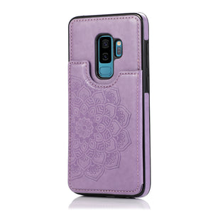 2020 New Style Luxury Wallet Cover For Samsung S9 Plus