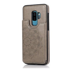 2020 New Style Luxury Wallet Cover For Samsung S9