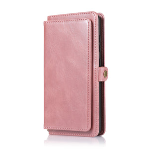 Multifunctional Split Magnetic Wallet Phone Case For Samsung S Series