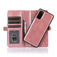 Load image into Gallery viewer, Multifunctional Split Magnetic Wallet Phone Case For Samsung S Series