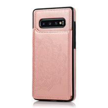 Load image into Gallery viewer, 2020 New Style Luxury Wallet Cover For Samsung S10 4G