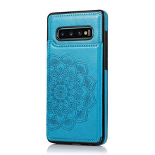 Load image into Gallery viewer, 2020 New Style Luxury Wallet Cover For Samsung S10E