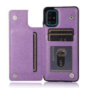 Luxury Wallet Phone Bags For Samsung A series