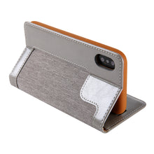 Load image into Gallery viewer, New Contrast Color Wallet Phone Case For iPhone