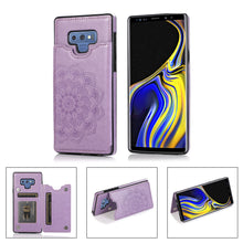 Load image into Gallery viewer, 2020 New Style Luxury Wallet Cover For Samsung Note 9