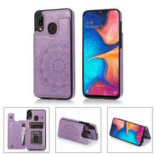 Load image into Gallery viewer, 2020 New Style Luxury Wallet Cover For Samsung A20/A30