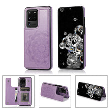 Load image into Gallery viewer, 2020 New Style Luxury Wallet Cover For Samsung S20 Ultra 5G