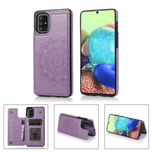 Load image into Gallery viewer, 2020 New Style Luxury Wallet Cover For Samsung A71 4G