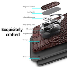 Load image into Gallery viewer, Luxury Genuine Leather Cover For Samsung