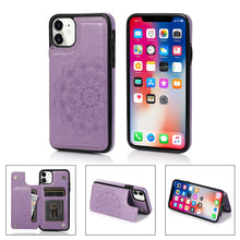Load image into Gallery viewer, 2020 New Style Luxury Wallet Cover For iPhone 11